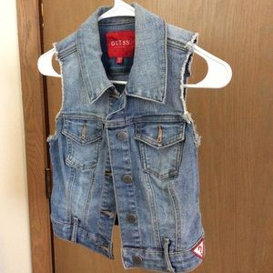 Guess  denim vest